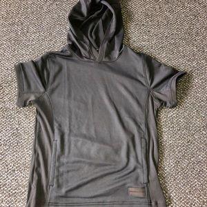 New Under Armour short sleeve hoodie.